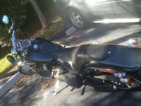 2009 Harley Davidson Night Train 4000 miles bike is