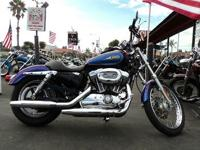 THIS IS BEAUTIFUL SPORTSTER 1200 CUSTOM WITH LOW MILES