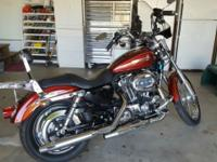 I have a 2009 Harley Davidson Sportster 1200C for sale.