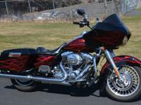 Year:2009Exterior Color: Vivid Black with Custom Flames