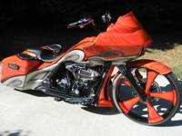 2009 CVO SCREAMIN EAGLE 110 ROAD GLIDE Clear title