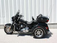 This 2009 Harley Davidson Tri Glide Ultra Classic is in