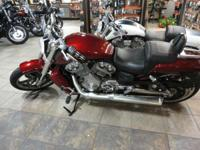 2009 Harley-Davidson V-Rod Muscle red hot display room