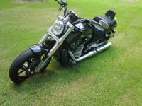 2009 Harley Davidson VRSCF Muscle V Rod . A well