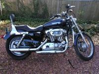 2009 Harley Davidson XL 1200C Custom Sportster