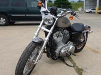 2009 Harley Davidson XL883L, 92 odometer mileage, VIN#