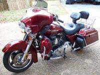 Up for sale is a 2009 Harley Street Glide *Low Mileage*