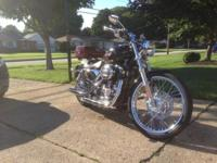 2009 harley-Davidson 1200 custom in mint condition.