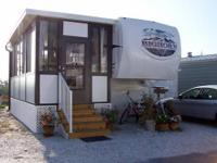 2009 38-ft Heartland Bighorn 5th Wheel on Resort Lot