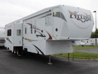 2009 Heartland Cyclone 3912. Pre-Owned Certified Used