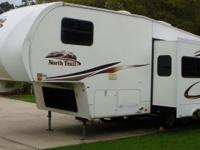 2009 Heartland North Trail 26RK Fifth Wheel. Initial