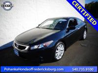 2009 Honda Accord EX-L***** Honda Certified, 3.5L V6