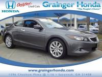 EPA 28 MPG Hwy/19 MPG City! CARFAX 1-Owner. Heated