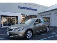 2009 Honda Accord 4 Dr Sedan EX-L V6 Our Location is: