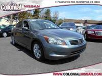 Here we have a 2009 Honda Accord Sedan EX which has had