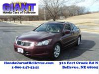 Looking for a clean, well-cared for 2009 Honda Accord