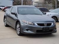 Clean CARFAX. LOW,LOW MILES, Accord EX-L, 2D Coupe,
