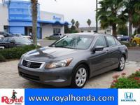 Options:  2009 Honda Accord Ex-L|This Vehicle Has A