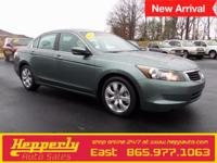 Recent Arrival! This 2009 Honda Accord EX-L in Green