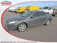 Options:  2009 Honda Accord 2.4 Ex-L Grey Grey