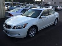 One Owner 2009 Honda Accord EX-L Sedan, Navigation,