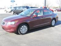 Options Included: N/A2009 Honda Accord/ LX trim level/