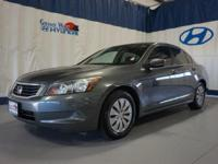 Gray 2009 Honda Accord LX 2.4 FWD 5-Speed Automatic