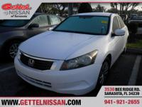 Options:  2009 Honda Accord 2.4 Lx|White|2.4L 4