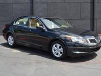 This 2009 Honda Accord Sedan 4dr LX-P Sedan AT features