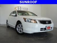 Accord LX-P 2.4, 4D Sedan, 2.4L I4 DOHC i-VTEC 16V. New
