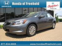 Honda of Freehold presents this CARFAX 1 Owner 2009