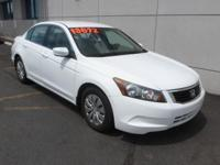 WOW! This 2009 Honda Accord LX is a very bargain. CD