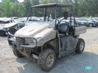 Honda Big Red ATV - water damage Linn's Auto and