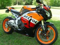 2009 Honda CBR1000RR Repsol Edition. Like new and with