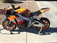 I am the initial owner of this 2009 Honda CBR 1000RR