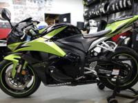 2009 Honda CBR 600rr in green and black with 10868
