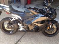2009 Honda Cbr 600RR, Purchased brand-new in 2011 from