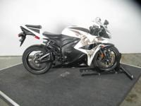 The incredible looking 2009 CBR 600RR is in the Phoenix