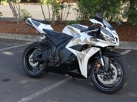 2009 Honda CBR 600RR Phoenix Edition On the track or