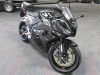 CLEAN 2009 HONDA CBR 600RR WITH JUST 3,713 MILES!