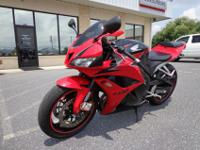 2009 Honda CBR600RR. The bike is in great condition