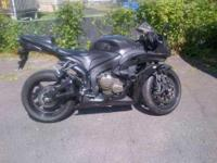 2009 Honda CBR600RR in Excellent Condition- - Black