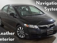 2009 Honda Civic EX-L and K-Certified ( 2 years/100,000