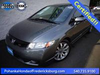 2009 Honda Civic Si ***** Honda Certified! Fuel
