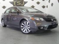 2009 HONDA CIVIC SI 4DR, CLEAN CARFAX HISTORY, 6 SPEED