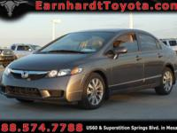 We are happy to offer you this *1-OWNER 2009 HONDA