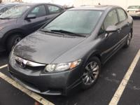 Carfax One-Owner. Clean CARFAX 2009 Honda Civic EX in