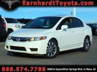 We are excited to offer you this 1-OWNER 2009 HONDA