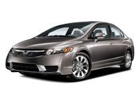 Options:  2009 Honda Civic Sdn Ex|Crystal Black/|V4