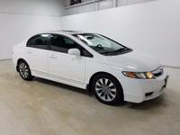 Options:  2009 Honda Civic Ex-L|Miles: 118354Stock